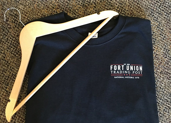 Fort Union Trading Post Black T-Shirt