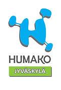 Jyväskylän jaoston Logo: HUMAKO Jyväskylä.