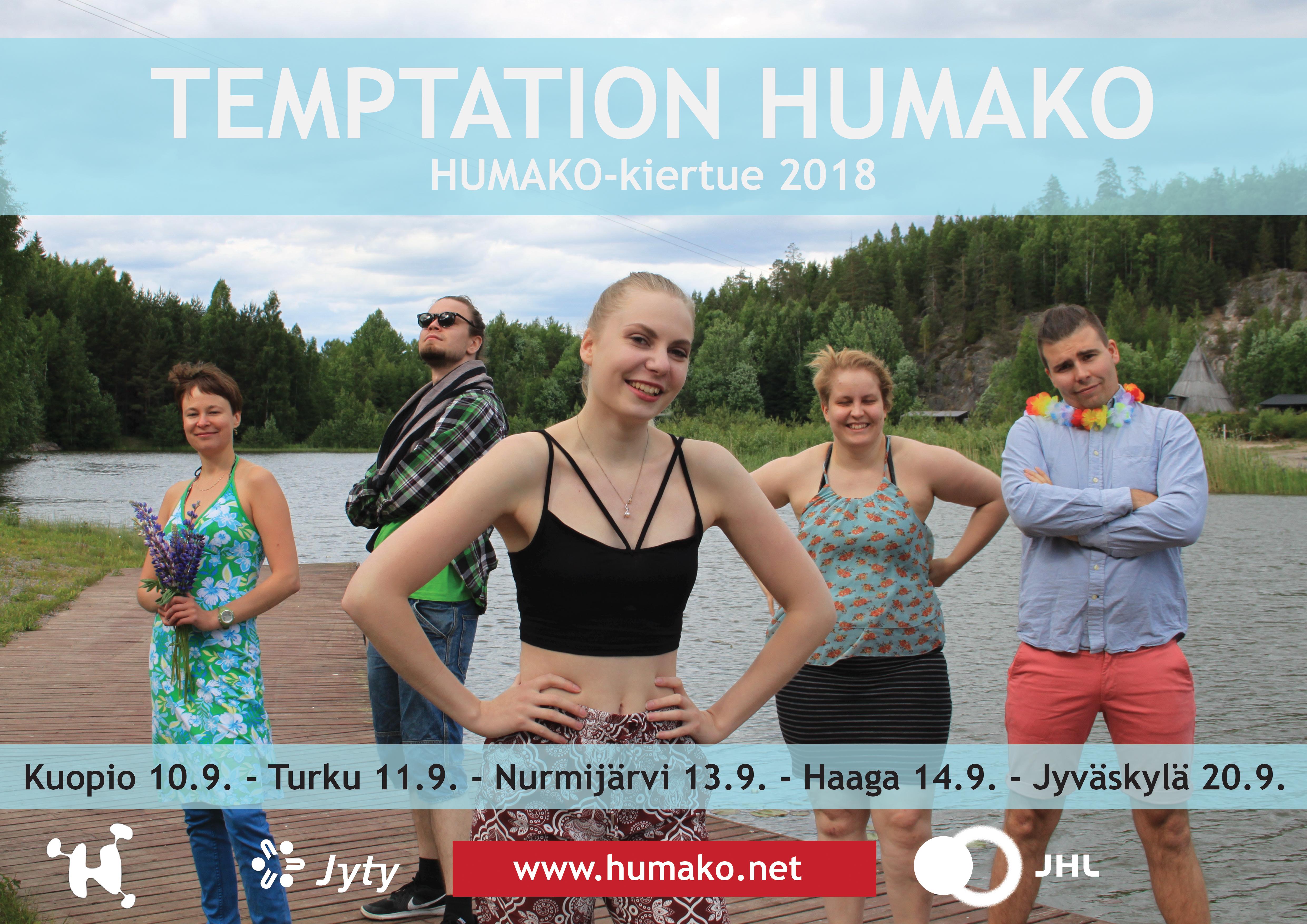 HUMAKO-kiertue 10.-20.9.