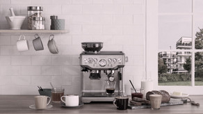 Which is the best espresso coffee machine available in India for home use, comparable to cafes?