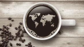 How does the taste of coffee vary with the country it comes from?