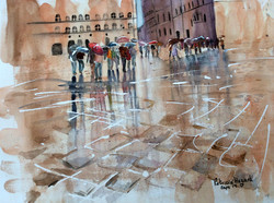 10. Rainy day in Florence