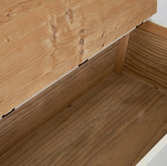 Lift up the seat and you will find ample storage space to hide away your household items.