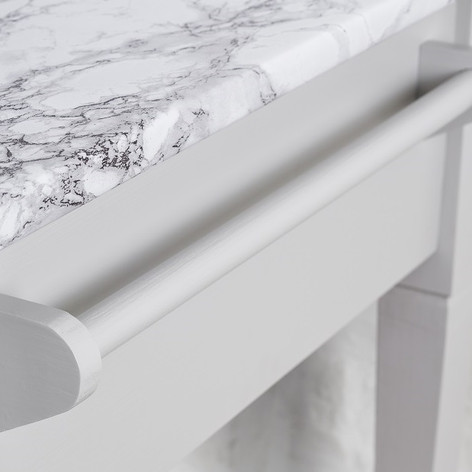 For those extra storage needs a handy rail has been incorporated into the design.