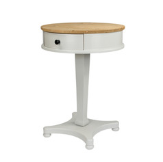 The elegant curves of the Jelks Side Table make this design standout from the rest.