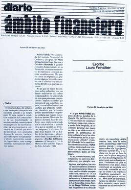 Publicación de Laura Feinsilber