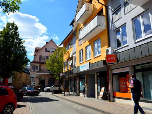 Büroflächen im Herzen Öhringens zu vermieten - 175 m² inkl. 2 Tiefgaragenstellplätzen für 1.000 €