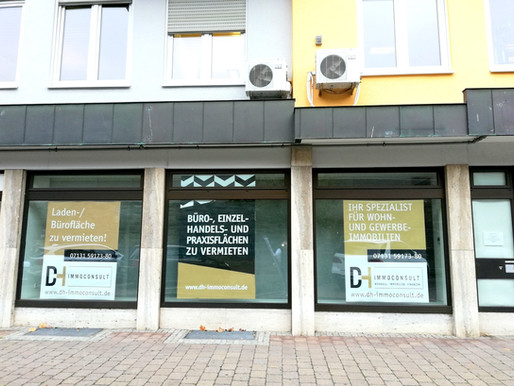 481 m² zusammenhängende Büro-, Praxis- oder Studiofläche in Top Lage in Öhringen zu vermieten!