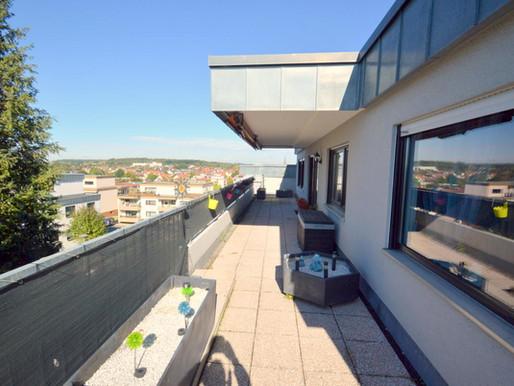 Penthouse-Wohnung in Bad Rappenau zu verkaufen - DH Immoconsult, Ihr Immobilienmakler in Heilbronn