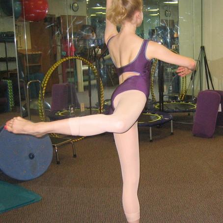 Thoracic Spine Mobility Improves a Dancer's Arabesque