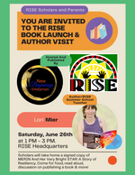RISE Book Launch June, 2021