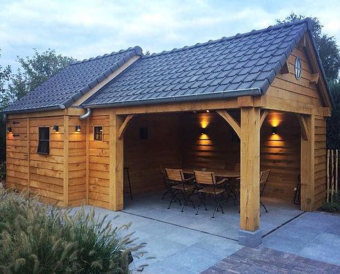 bijgebouwen en aanbouw uit (eiken)hout