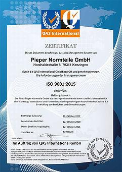 Zertifikat_ISO_9001_2015_Pieper_Normteil
