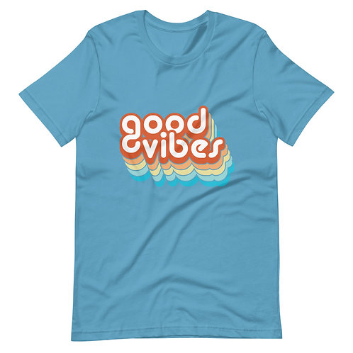 Good Vibes Short-Sleeve Unisex T-Shirt
