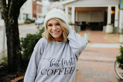 But first coffee Fleece Pullover