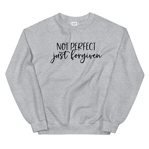 Not Perfect Just Forgiven Sweatshirt