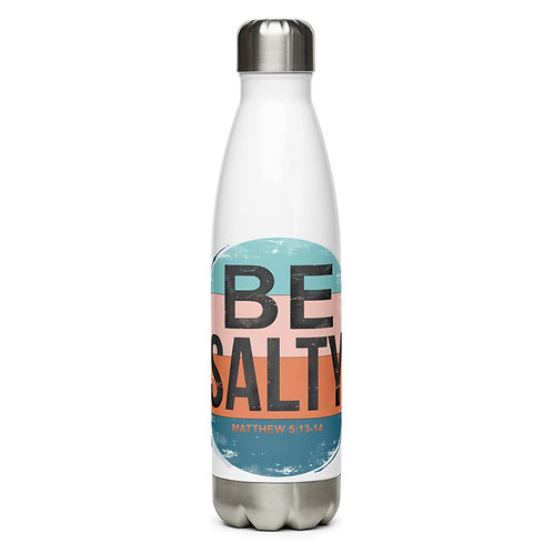 Be Salty Stainless Steel Water Bottle