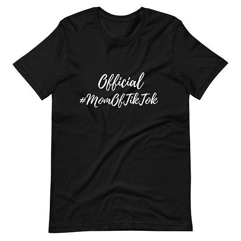 Official tiktok mom Sleeve Unisex T-Shirt