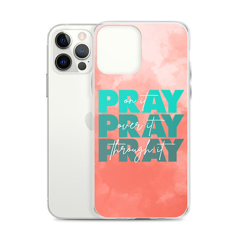 pray for it iPhone case