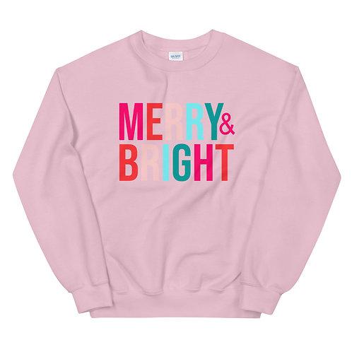 Merry and Bright Sweatshirt