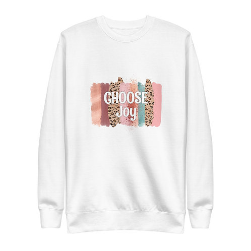 Choose joy Fleece Pullover