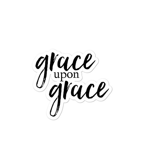 Grace upon Grace stickers