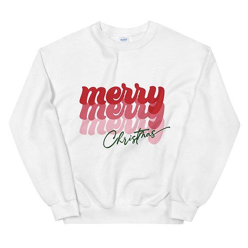merry merry merry sweatshirt