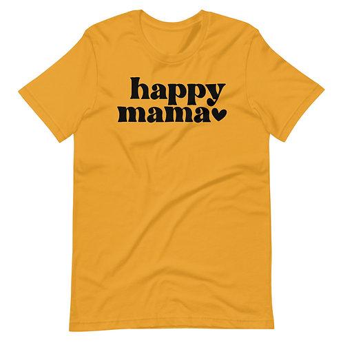 Happy Mama Short-Sleeve Unisex T-Shirt