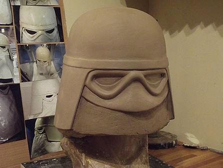 star wars snowtrooper sculpt 1
