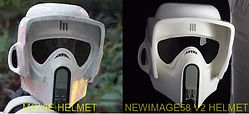 Biker scout version 2 helmet