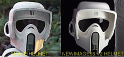Biker scout version 2 helmet