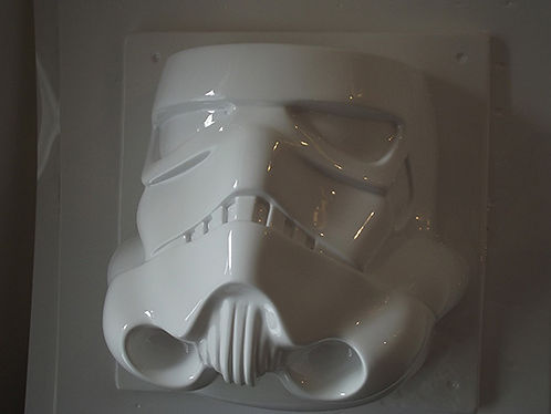 stormtrooper helmet vacuum formed face