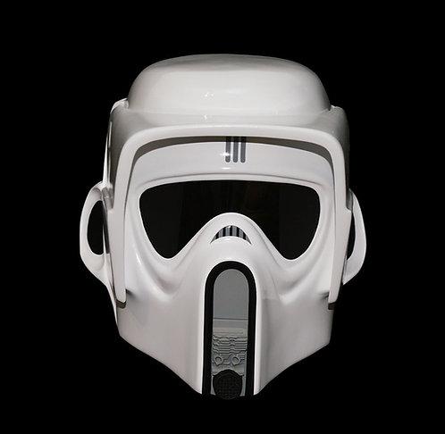 Full size Biker scout trooper helmet version 3 front