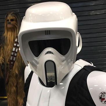 newimage prop replicas biker scout helmet