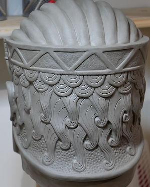 Vizier newimage prop replicas clay sculp