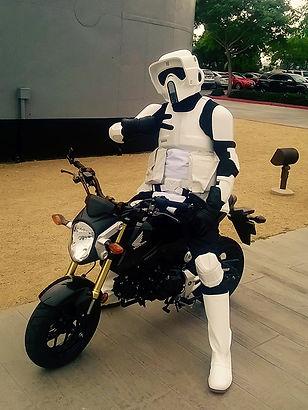 biker scout trooper newimage prop replicas