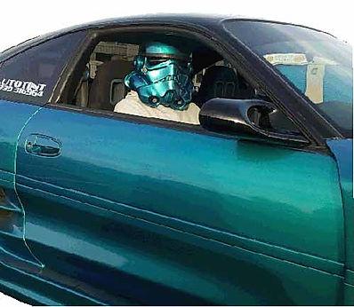 bespoke stormtrooper helmet