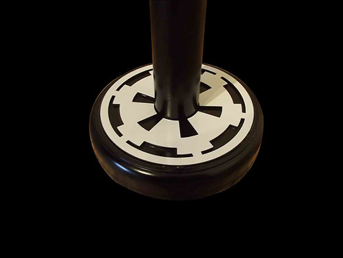 star wars helmet imperial logo display stand