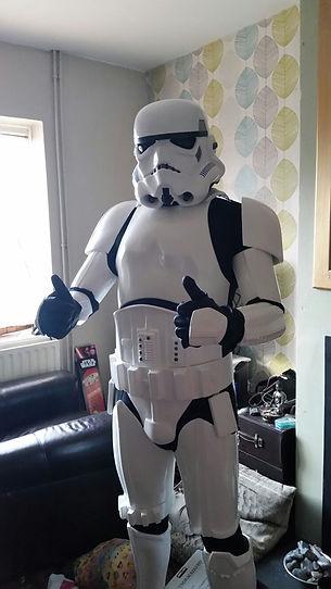 stormtrooper helmet customer picture newimage prop replicas