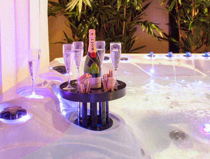Skimmer bar champagne !De Passion Spas