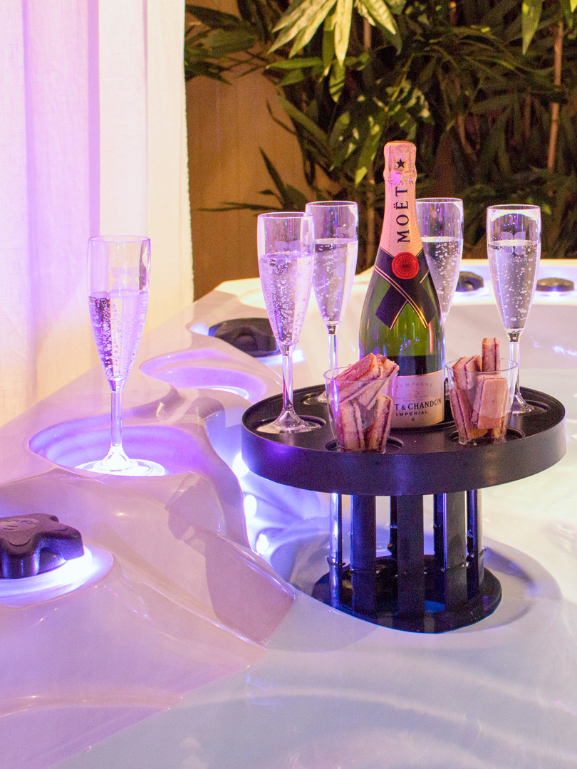 Skimmer bar champagne ! Passion Spas Whirlpool