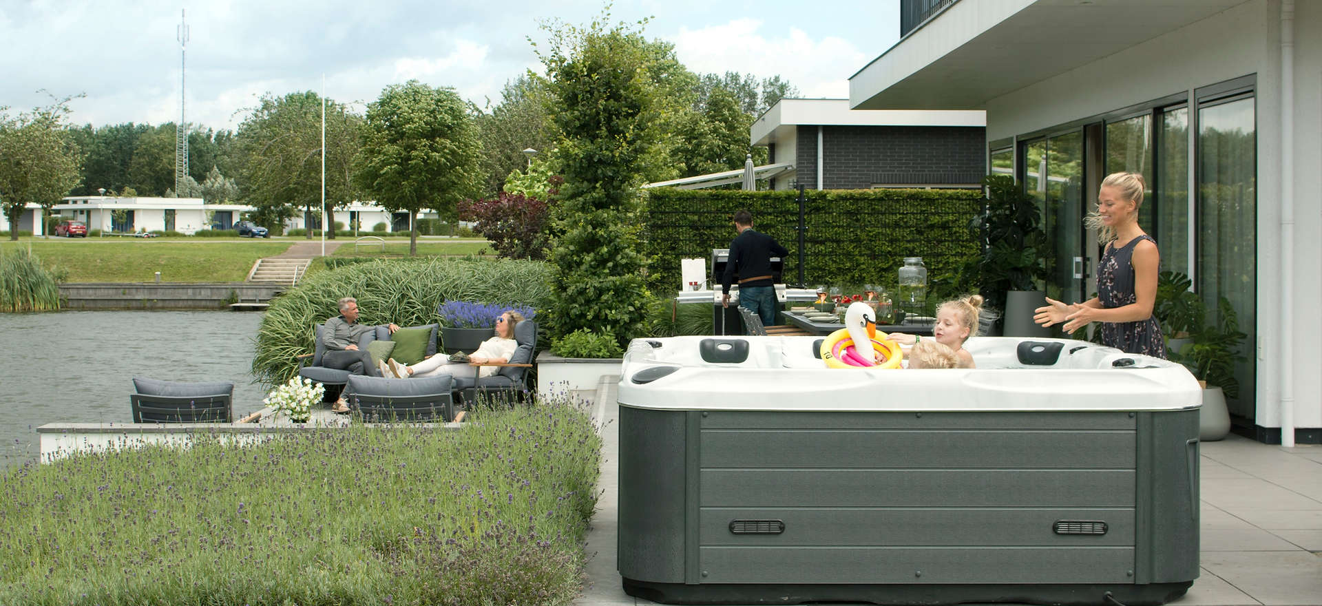 Jacuzzi Whirlpool outdoor Passion Spas Deutschland