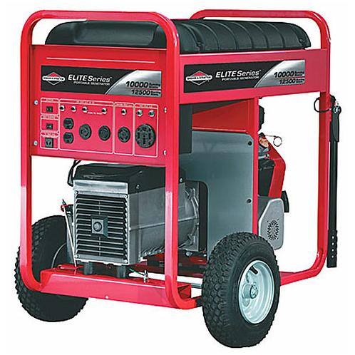 Briggs & Stratton Elite Series 10,000W Electric Start Portable Generator