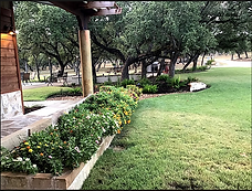 Grounds of Vintage Oaks Farms in Wimberley TX