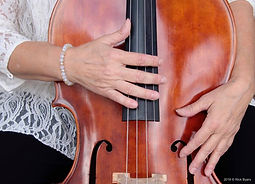 Cellist Hands by Rick Byars