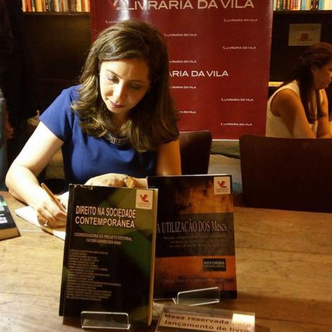 Lançamento Editora Anjo -  LIVRARIA DA VILA LORENA - A utilização dos MESCS - REFORMA TRABALHISTA