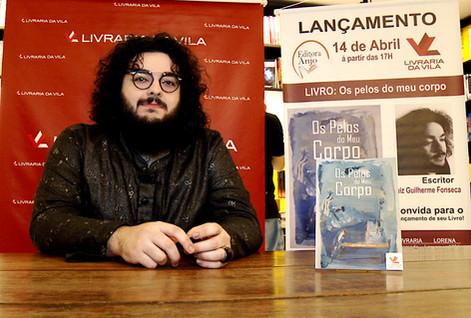 Lançamento Livraria da Vila Lorena - Escritor Luiz Guilherme Fonseca. Editora Anjo