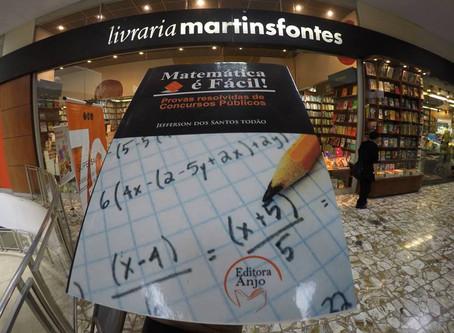Lançamento Editora Anjo Livro Matemática é Fácil, Autor Jefferson Todão