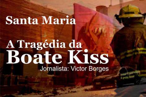 Escritor Victor Borges , traz em Livro a triste memória da tragédia Santa Maria, A tragédia da Boate