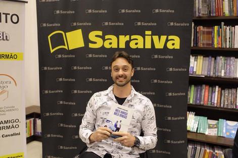 Editora Anjo - Lançamento Saraiva  ESCRITOR  André Cavalini!!! LIVRO MEU AMIGO, MEU IRMÃO